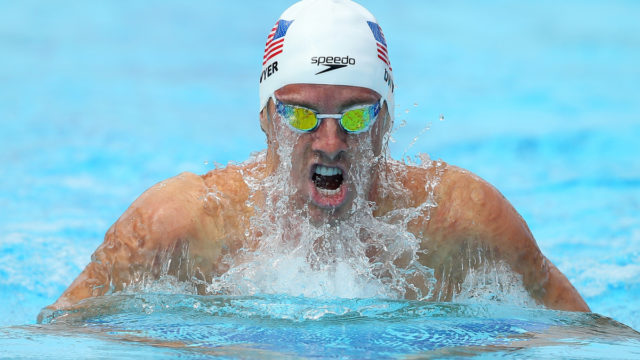 US gold medal swimmer cops doping ban