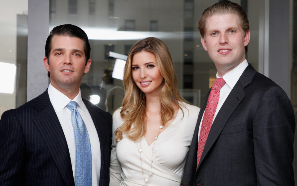 Trump Ukraine Probe Biden Not The Only One With Children Linked To Foreign Businesses The New Daily Trump S Kids Keep Their Foreign Deals Cooking