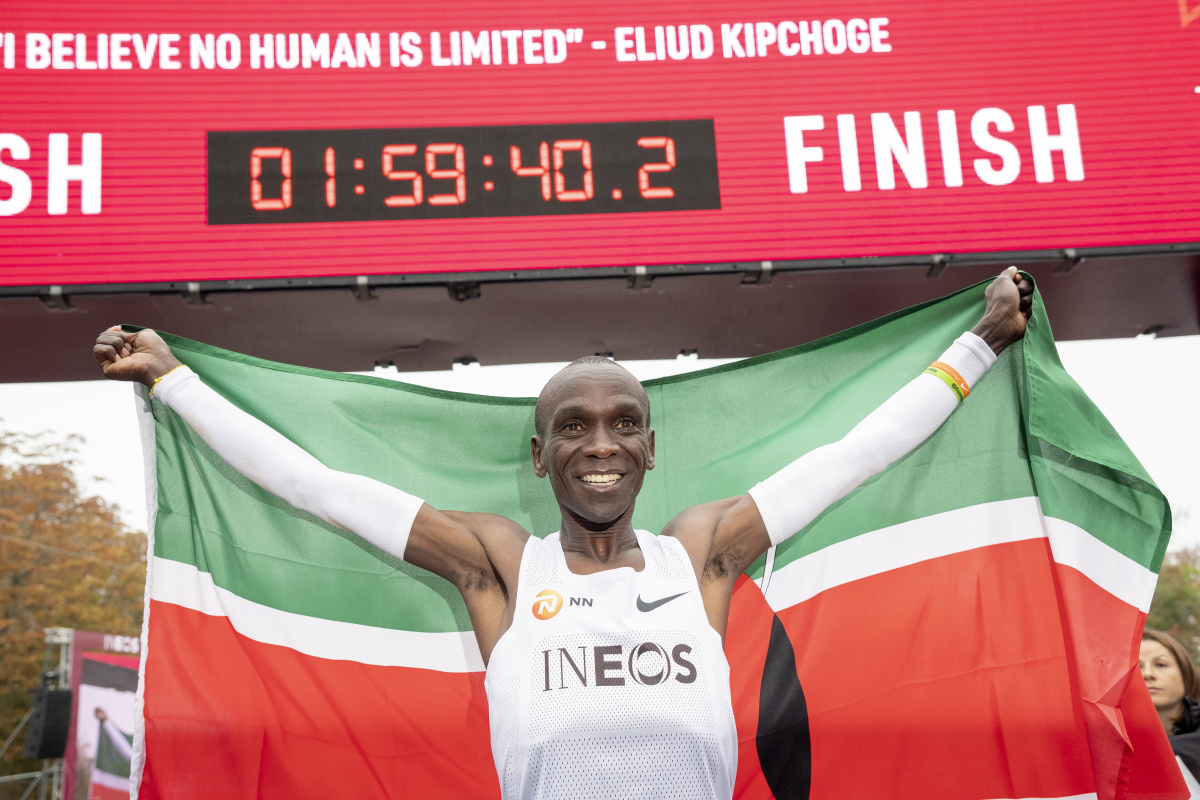 Image result for eliud kipchoge live simple quote