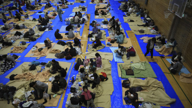 At least 35 dead and 17 missing as Typhoon Hagibis tears through Japan