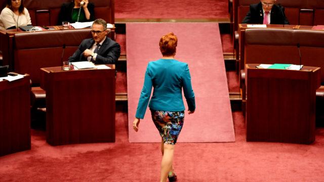 Pauline Hanson withdraws Senate vote to pressure Coalition on farmers