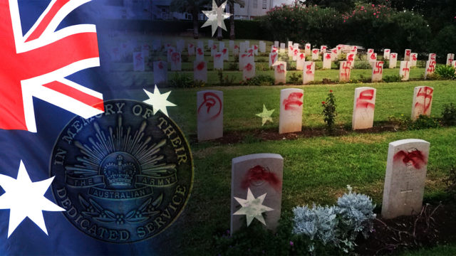 Anti-Semitic attacks highlights vulnerability of Australian war hero graves
