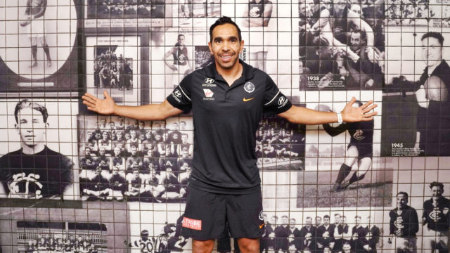 AFL: An emotional Eddie Betts returns to Carlton for final goalfeast