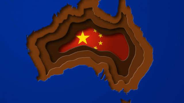 Huge cracks appearing in Australia's approach to China