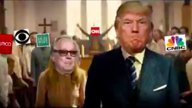 Fake video showing Trump shooting media shown at president's resort