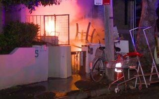 glebe fires arson