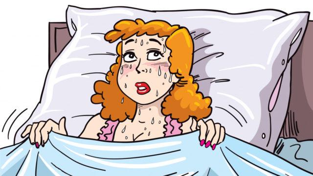 Menopause oddity: Night sweats and more sleep linked to 'mental fog'