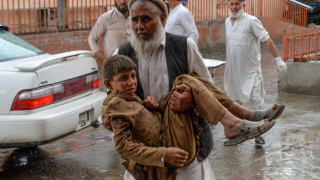 Blast in Afghanistan mosque leaves 62 dead