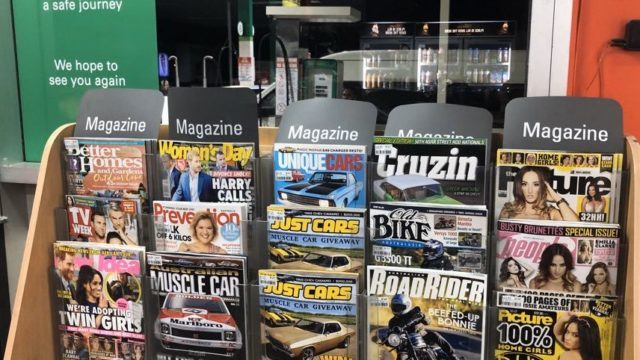 BP pulls lads' magazines from stores
