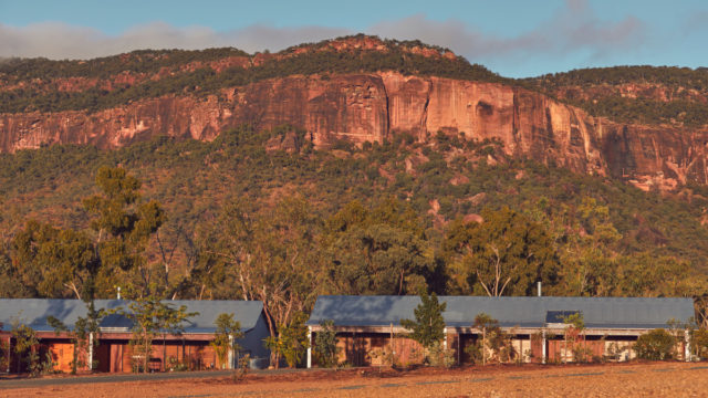 A little bit of wild Queensland: The setting for Mount Mulligan Lodge.