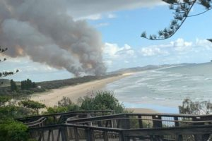 peregian beach fire october
