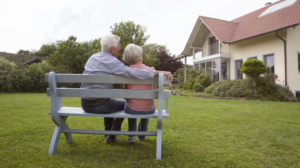 asset testing of family home for pension