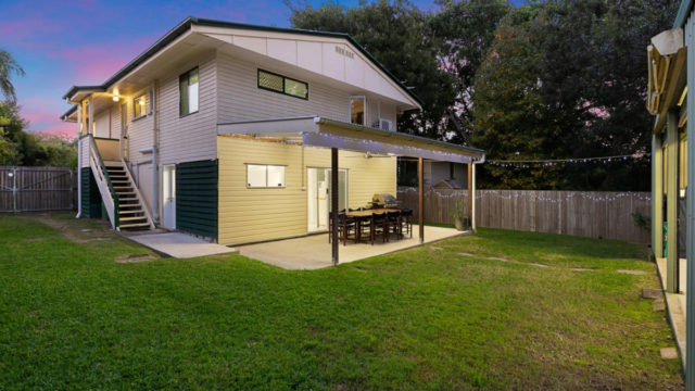 The owners of this Queenslander in Capalaba are asking for offers over $450,000. <i>Photo: realestateview.com.au</i>