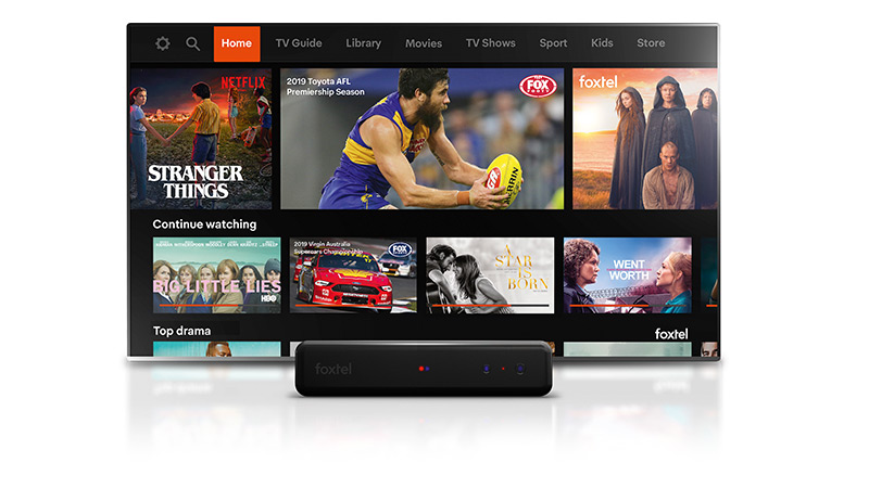 Foxtel is in an increasingly competitive world.