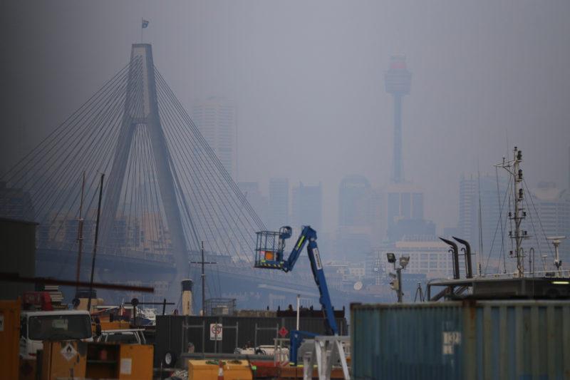 smoke haze sydney