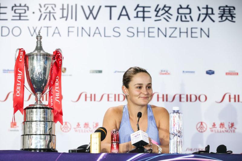 Чемпионка Итогового турнира рассказала, что будет делать с рекордным денежным призом