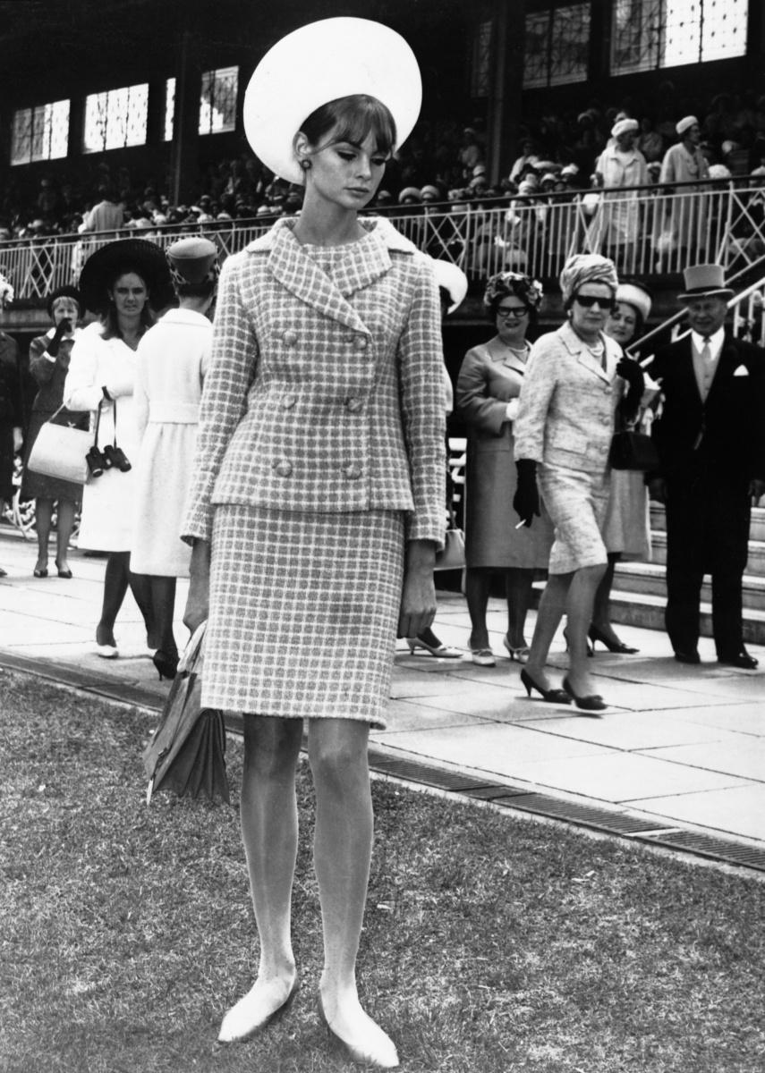 Jean Shrimpton Melbourne Cup 1965