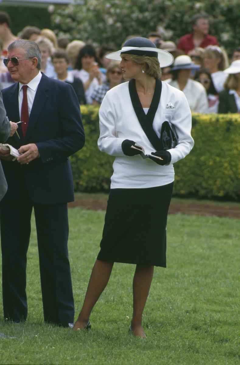 Princess Diana 1985 Melbourne Cup