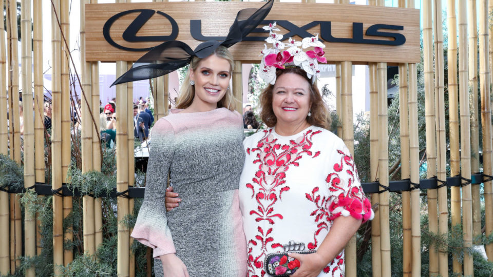 Lady Kitty Spencer Gina Rinehart