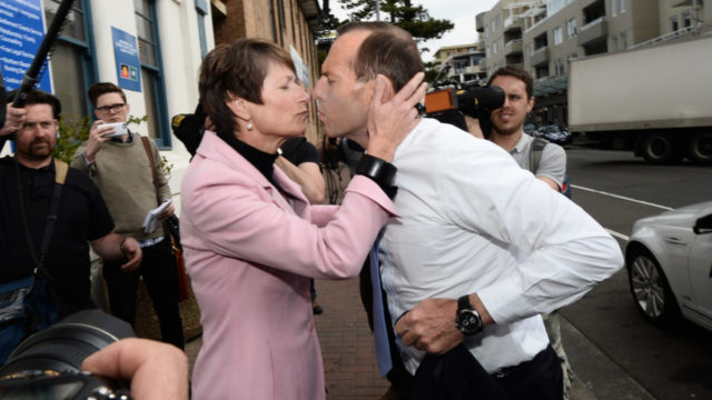 Why Margie was missing from Tony Abbott's big night