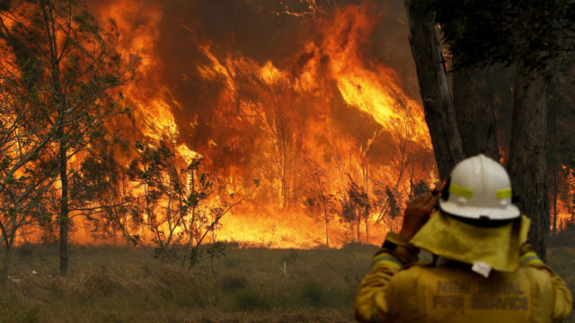 NSW bushfire conditions about to go from bad to much worse