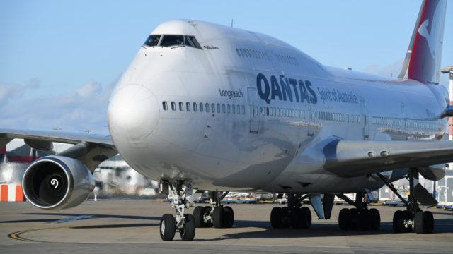 Qantas 737 forced to make emergency landing at New Zealand military base