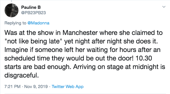 Madonna tweet 2