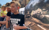 climate change fires protest