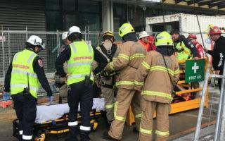 crane accident melbourne