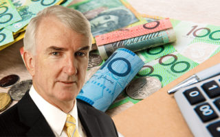 Michael Pascoe on top of cash money.