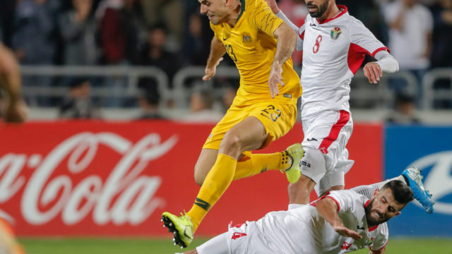 Socceroos hold on for 1-0 win over Jordan
