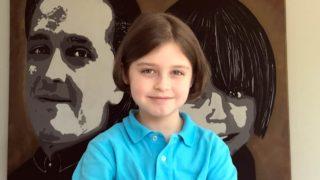 nine year old