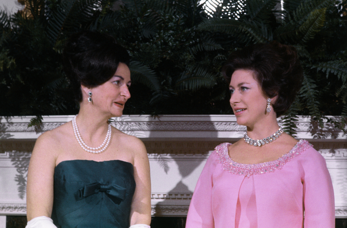Ladybird Johnson Princess Margaret