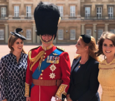Prince Andrew Sarah Ferguson Princess Beatrice Princess Eugenie