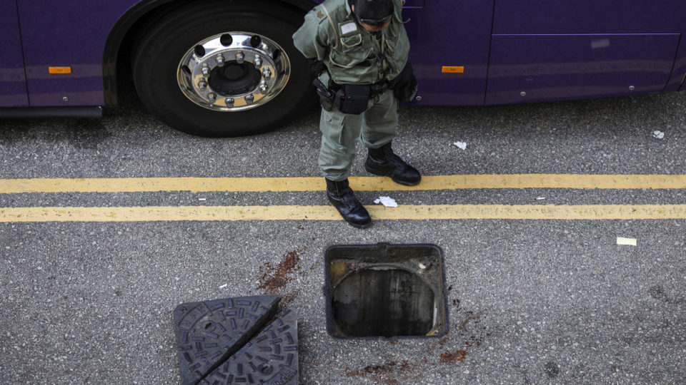 hong kong campus siege