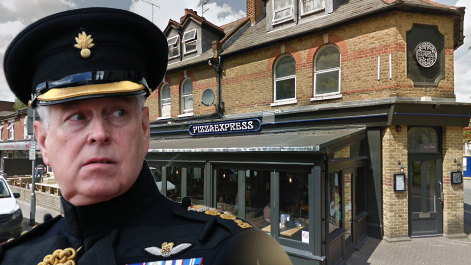 prince andrew woking pizza