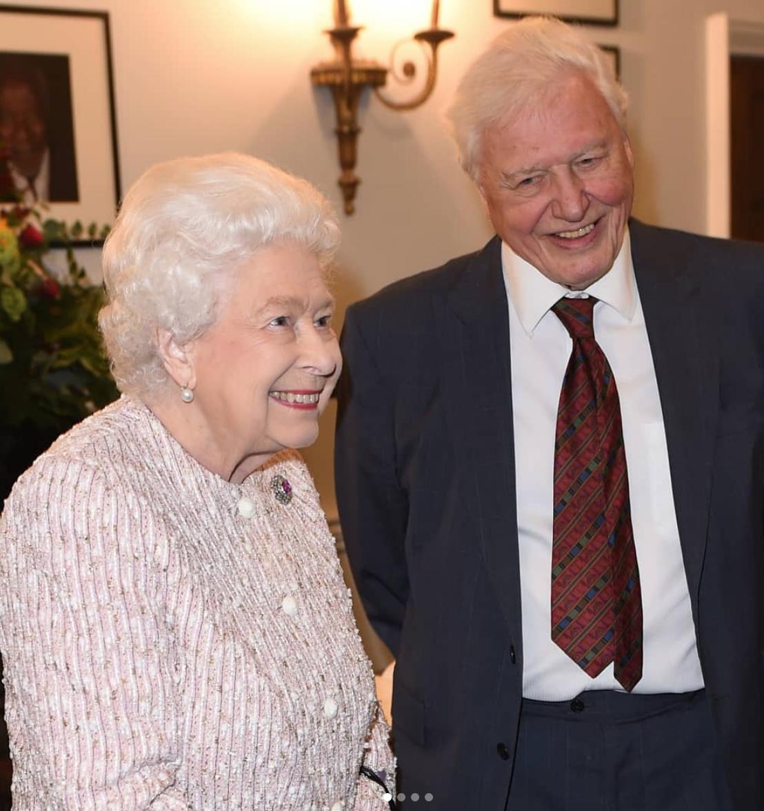 The Queen Sir David Attenborough