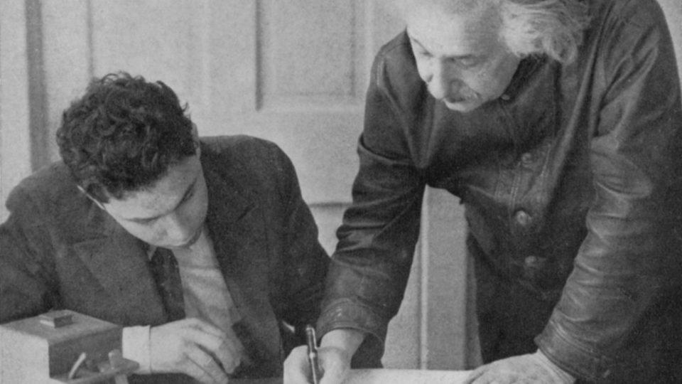 Albert Einstein writes his general theory of relativity