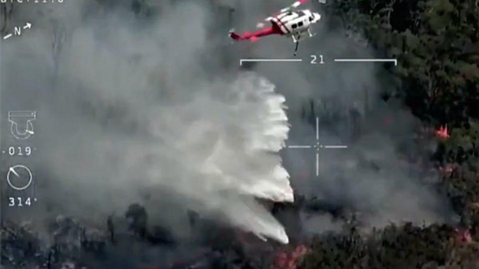 nsw lightning fire danger