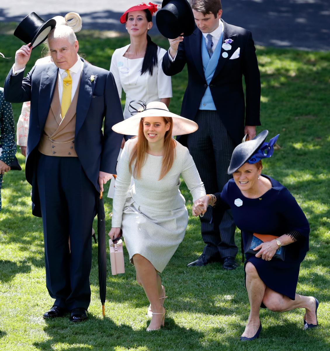 Prince Andrew Princess Beatrice Sarah Ferguson