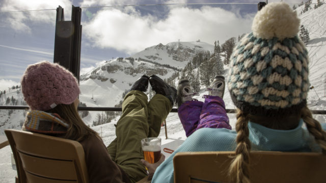 Soak up the snow and the fun at Jacksons Hole, and then put your feet up.