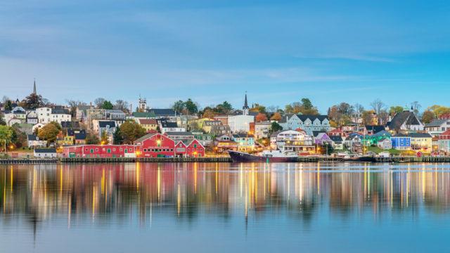Lunenberg, in Canada's Nova Scotia, is a standout find.