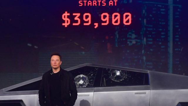 'I wanted to make a futuristic battle tank': Elon Musk reveals his Cybertruck inspiration