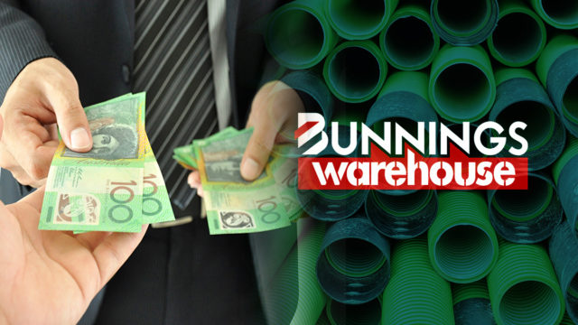 Bunnings workers were short changes on their superannuation payments.