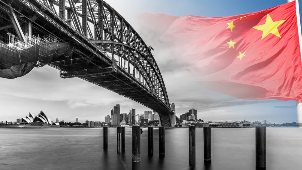 China Australia threat