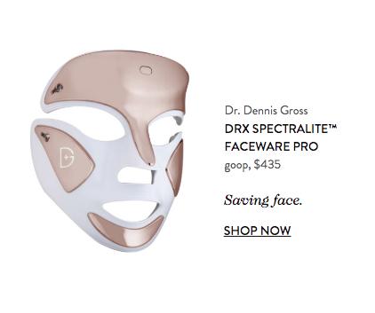 Goop face mask