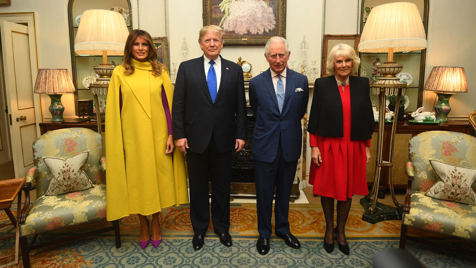 Melania Trump Donald Trump Prince Charles Camilla