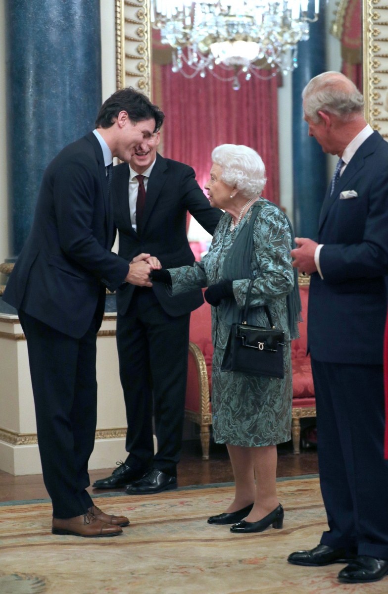 The Queen Prince Charles Justin Trudeau