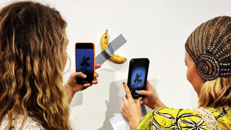 banana art work