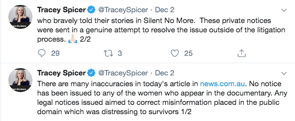 Tracey Spicer Twitter